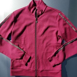 Izod Lady performance workout jacket